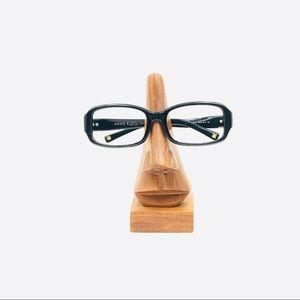 Anne Klein AKNY3120 Black Oval Sunglasses Frames